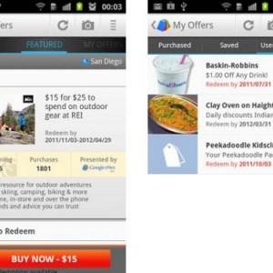 Googleがクーポン共同購入サービス「Google Offers」のAndroidアプリを公開
