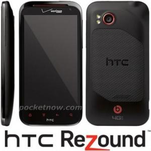 HTC Rezoundのプレス画像がリーク