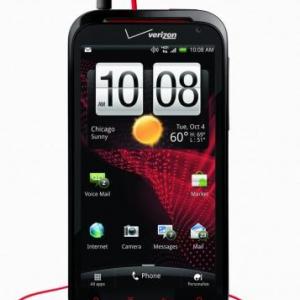 HTCが4.3インチHDディスプレイを搭載した米Verizon向けLTEスマートフォン「HTC Rezound」を発表、2012年早々にAndroid 4.0にバージョンアップ予定