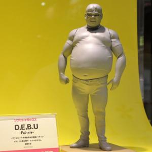 【ワンフェス2016[夏]】『D.E.B.U(デブ)』やムンクの『叫び』も可動フィギュアで登場