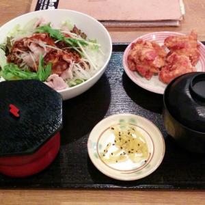 """【大阪】『普通の食堂いわま』は本当に""""普通""""なのか!? 『豚しゃぶサラダと鶏の唐揚げ定食』を食べてみた"""