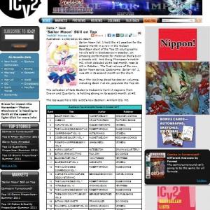 「セーラームーン」米国で人気健在 2カ月連続でマンガ売上1位