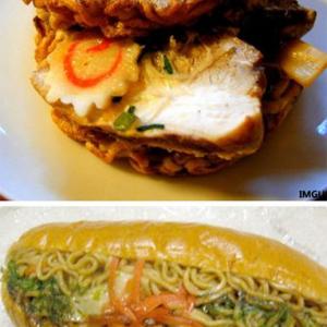 「ラーメンが新たな進化を遂げた」日本発の異色サンドイッチに興味津々