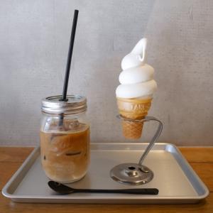 美容と健康を意識した広尾のオーガニックスイーツ店でメルヘンの世界のような巻き巻きのソフトクリームを食べてみた