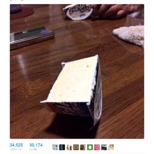 祖母がアイスクリームを「はんぶんこ」 衝撃画像が『Twitter』で話題