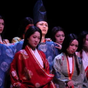 ニコニコミュージカル第7弾『源氏物語』 公開舞台稽古の様子