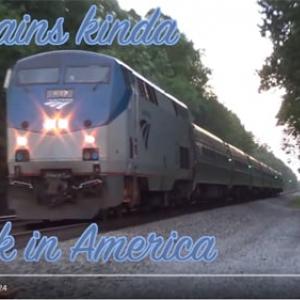 【海外の反応】遅い・ボロい・高い! アメリカの鉄道はなぜクソなのか?