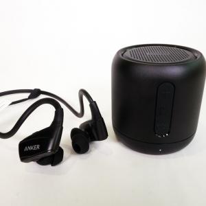 アンカー・ジャパンがFMラジオにもなる小型BluetoothスピーカーとIP5X対応の防水ワイヤレスイヤホンを発売