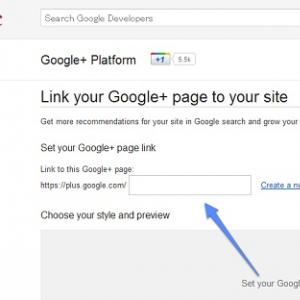 """Google ウェブサイトから『Google+ページ』に誘導する""""バッジ""""の提供を開始"""