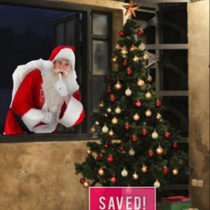 サンタクロースの存在を画像で証明!? 子どもの夢をかなえるアプリ『SantaCollage』