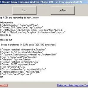 「DooMLoRD's Easy Rooting Toolkit」をGUI化したWindows用root化ツールが公開、端末のunrootにも対応