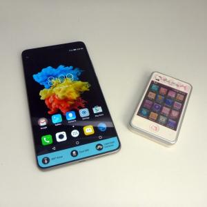 何これデカっ! レノボの大画面6.98インチフルHDファブレット(「Phone」+「Tablet」)『Lenovo PHAB』開封の儀!
