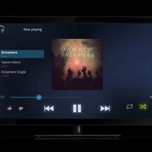 Google、Google TV向けGoogle Musicアプリを公開