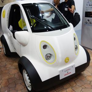 【CEATEC2016】外装部品を3Dプリンタで製作したホンダの『マイクロコミューター 豊島屋モデル』