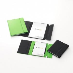 キングジム 手書きメモをデジタル記録する『ショットノート』専用カバーを発売