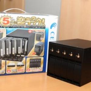 「HDDが好き」少年少女必携のアイテム『5代目 技あり!楽ラック!』製品レビュー