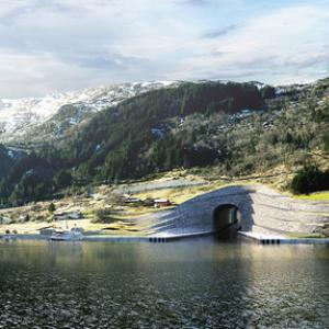 ノルウェーで世界初の船舶用トンネル計画 フィヨルドクルーズの新名所に