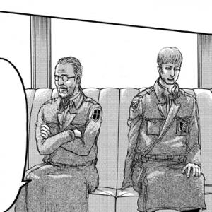 ガジェ通厳選! 進撃の巨人 for auスマートパス『ひとコマ大喜利』:エルヴィン「人類を思えば……」