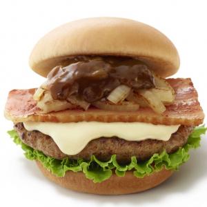 肉の旨みをふんだんに味わえる! モスから冬限定の贅沢グルメバーガー『とびきりハンバーグサンド』が11月15日登場