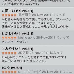 【アプリ】人気アイドル声優平野綾がiPhoneアプリに 何故かレビューに5つ星の連続……