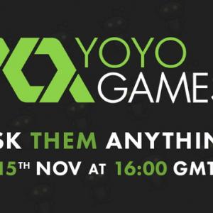 「GameMaker」開発元のYoYoGamesが質問会を本日実施