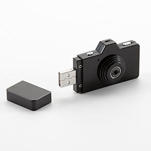 指先でつまめる22g! 動画撮影&USB接続できるカラフルなデジタルトイカメラ