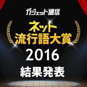 『ガジェット通信 ネット流行語大賞2016』決定! 金賞はネットから世界的ブームになった「PPAP」