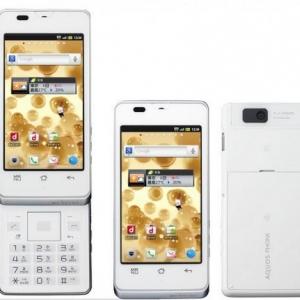 NTTドコモ「AQUOS PHONE slider SH-02D」が本日発売