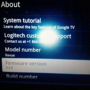 LogitechのGoogle TV「Revue」にAndroid 3.1(Honeycomb)へのアップデートが配信中
