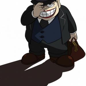 「ドーーン!!」喪黒福造が帰ってくる! 『笑ゥせぇるすまん』TVアニメ2017年春放送決定 現代のココロのスキマをお埋めします