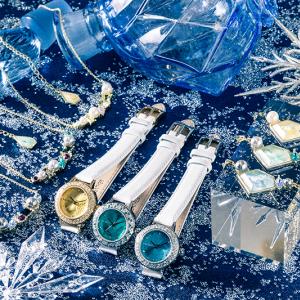 『ユーリ!!! on ICE』氷の世界をイメージしたネックレスや腕時計 パーティーファッションにもピッタリのキッラキラアイテム