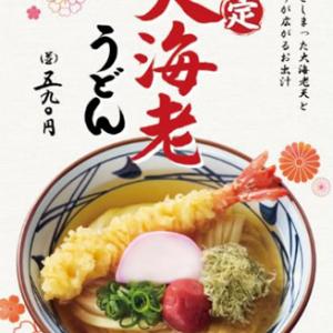 大海老がドーン!丸亀製麺が年末年始に「大海老うどん」を限定販売