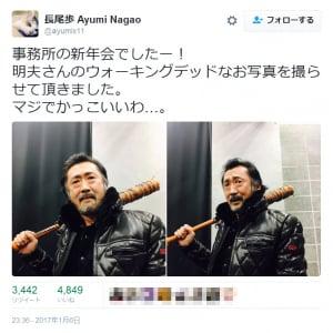 「マジでかっこいいわ…」 大塚明夫さんの「ウォーキングデッドなお写真」が『Twitter』で大反響