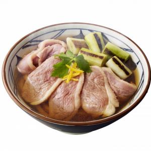 丸亀製麺の「カモネギ」がやってきた「鴨ねぎうどん」1月11日より