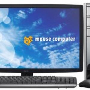 マウスコンピューター、7万円台からの地デジチューナー搭載フルHD液晶ディスプレイセットモデルPC発売