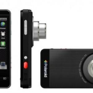 CES 2012:ポラロイドがAndroidを搭載したデジタルカメラ『SC1630』を発表、光学3倍ズーム対応1600万画素CCDを搭載