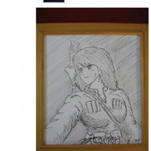 宮崎駿の直筆サイン色紙がYahoo!オークションに出品される 偽物疑惑?