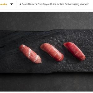 外国人記者が教える「寿司屋で恥をかかないための5つのルール」