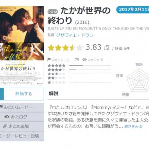 【Yahoo!映画ユーザーが選ぶ】今週末みたい映画ランキング(2月9日付)