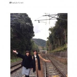 線路侵入写真でブログ炎上の松本伊代さん 警察が5時間もの事情聴取と『女性セブン』が報じる