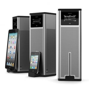 インターネットラジオと『iPod/iPhone/iPad』の再生に対応した卓上型ラジオプレーヤー『K2』