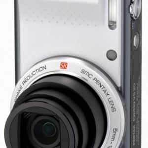 縦位置撮影に便利なシャッターを搭載したコンデジ『PENTAX Optio VS20』発売へ