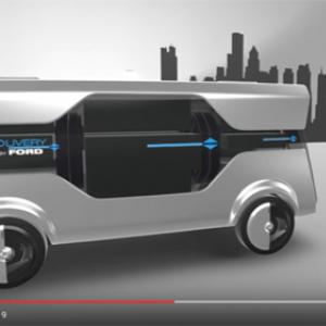 【動画】フォードが提案する未来の無人宅配システム Amazonが真っ先に採用しそう?