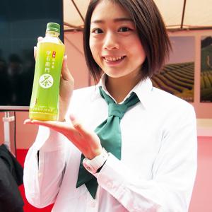 京都駅前でサンプリング実施! 『サントリー緑茶 伊右衛門』リニューアルのポイント