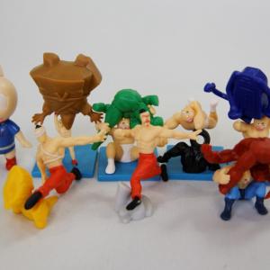 【写真】 ダイドーの『キン肉マン 7人の悪魔超人編フィギュア』全種類集めるとこうなる