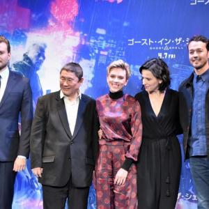 『ゴースト・イン・ザ・シェル』監督・キャストが来日 「世界中が士郎正宗や押井守の素晴らしさを知るだろう」