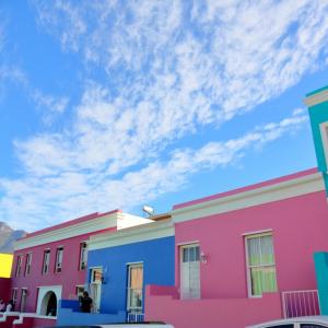ケープタウンのBo-Kaap地区のカラフルな家の秘密。
