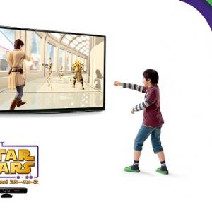 ライトセイバーの格闘からダース・ベイダーとのダンス対決まで楽しめるXbox360『Kinect スター・ウォーズ』は4月5日発売へ