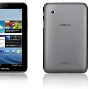 Samsung、Android 4.0標準搭載の7インチタブレット『Galaxy Tab 2』を発表