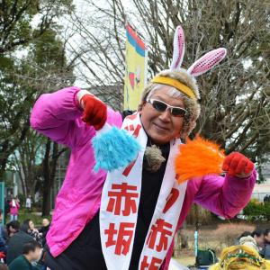【マック赤坂】スマイル党の花見大会に参加してきた! カオス過ぎる狂乱の空間に笑い死に寸前!